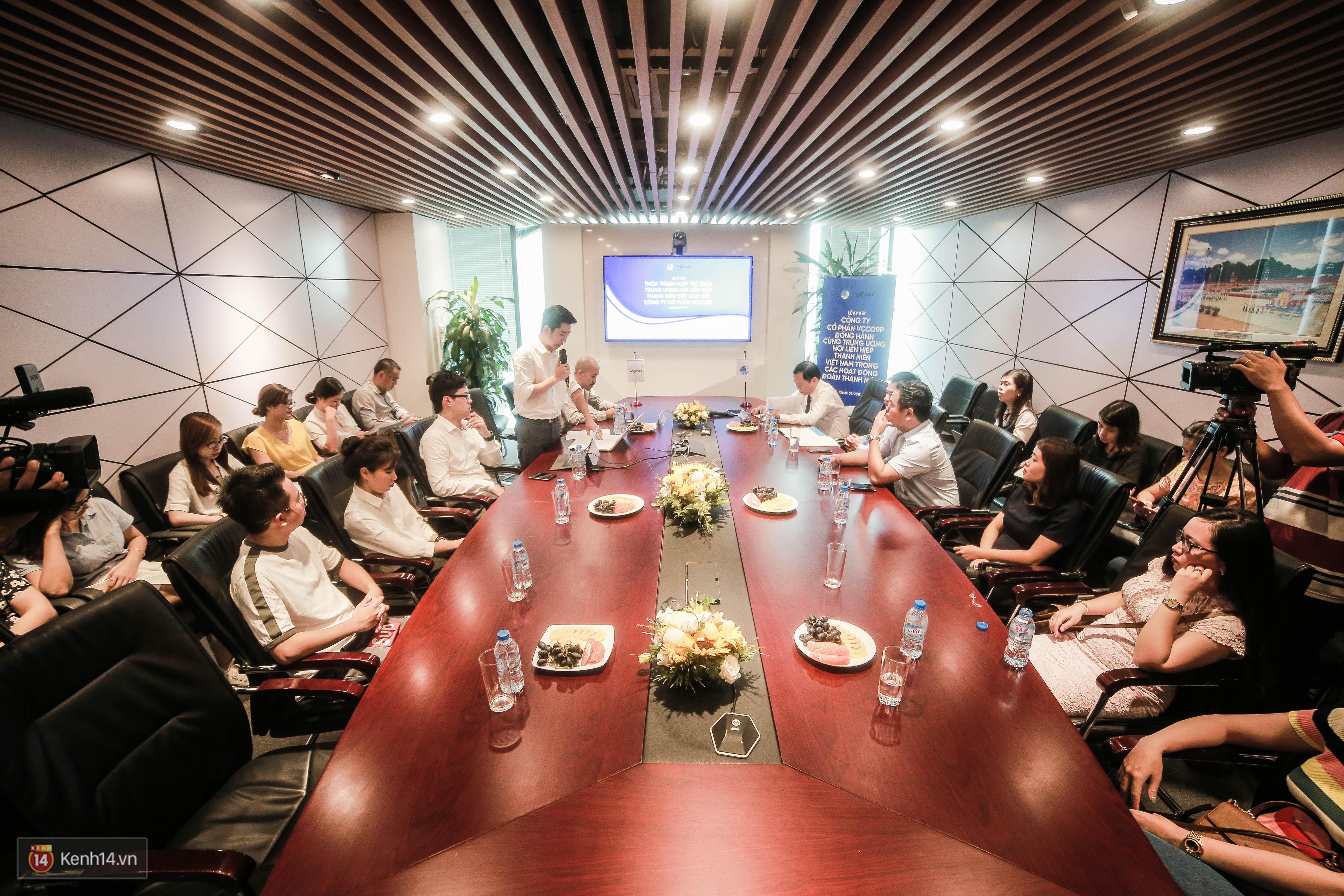Lễ ký kết thỏa thuận hợp tác giữa TW Hội Liên hiệp Thanh niên Việt Nam và Công ty CP VCCorp - Ảnh 4.