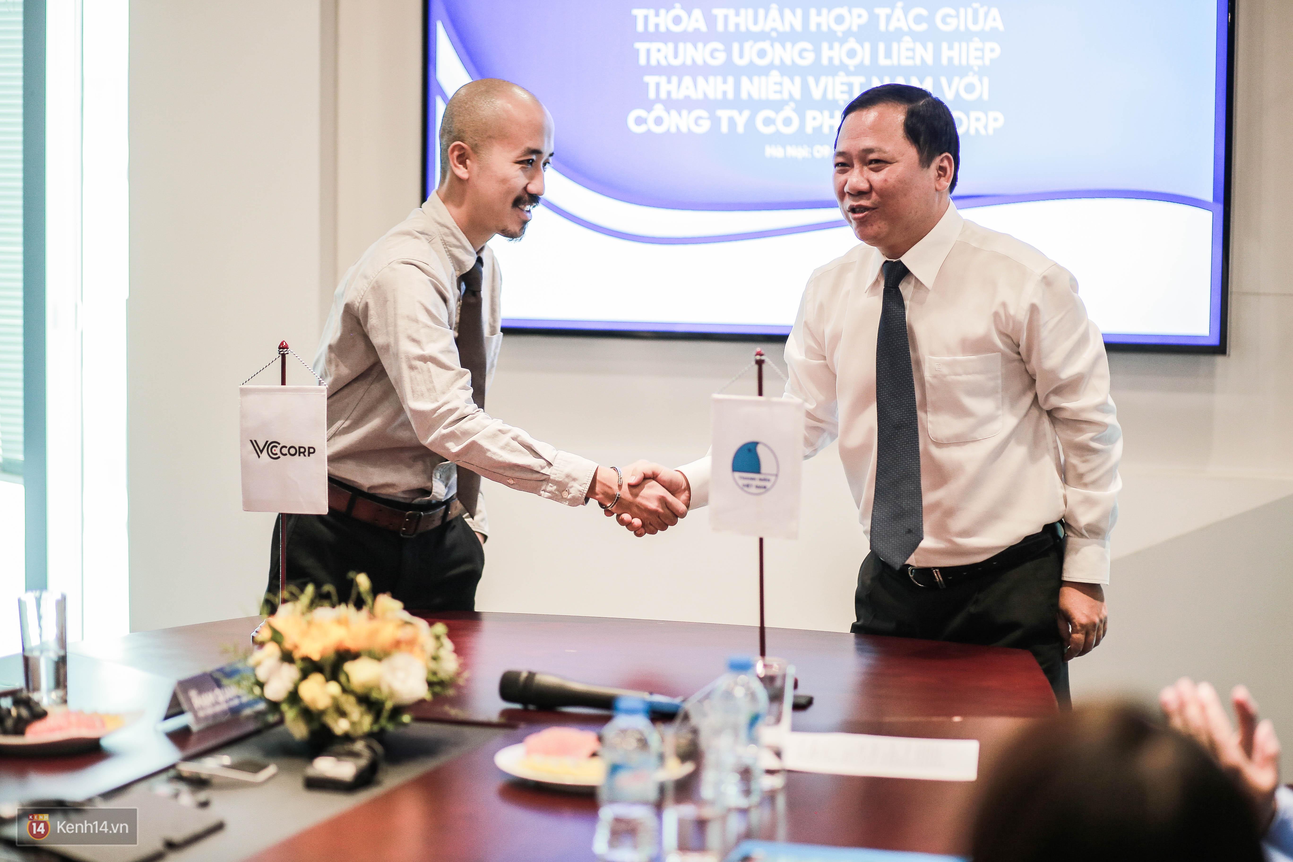 Lễ ký kết thỏa thuận hợp tác giữa TW Hội Liên hiệp Thanh niên Việt Nam và Công ty CP VCCorp - Ảnh 8.