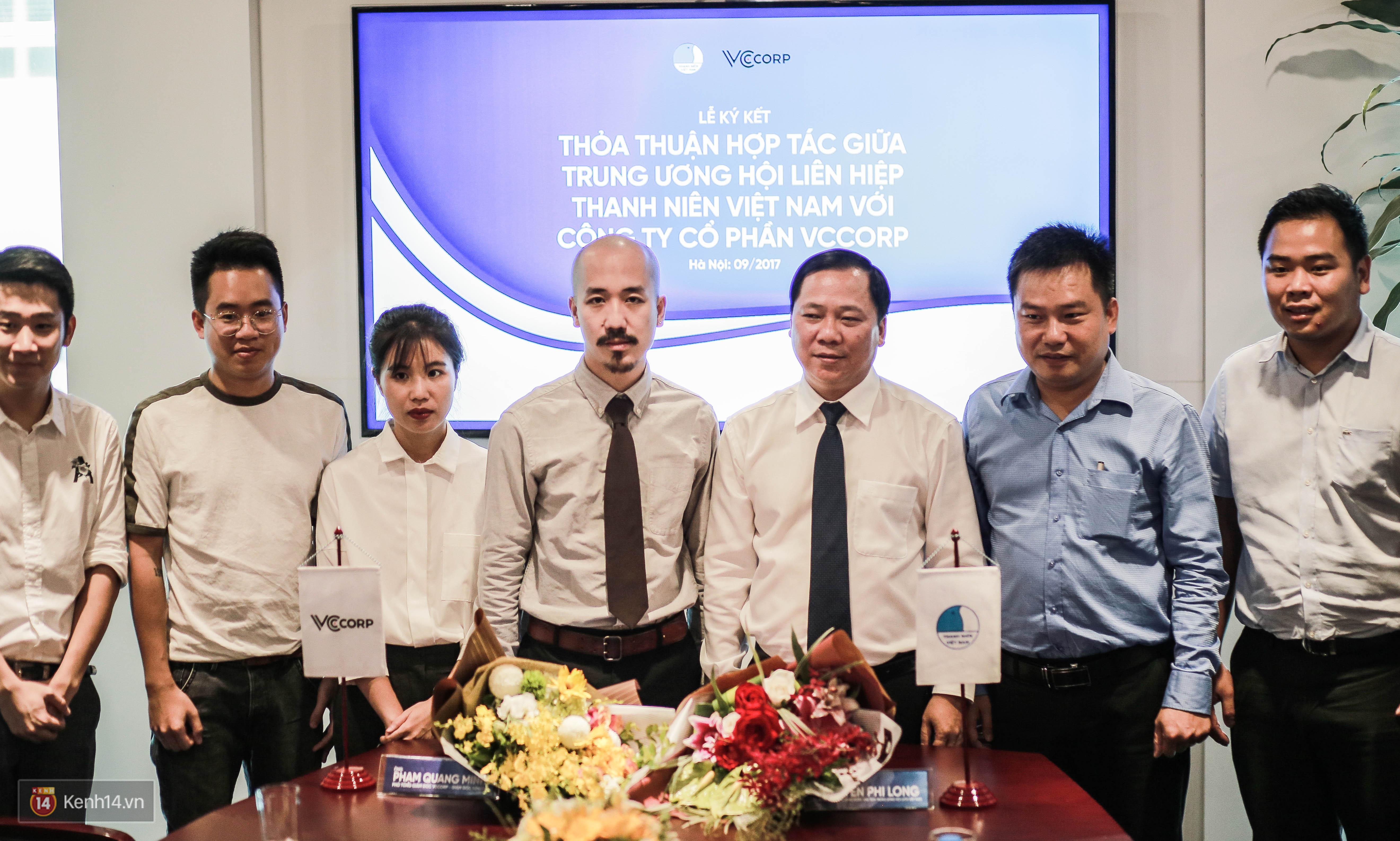 Lễ ký kết thỏa thuận hợp tác giữa TW Hội Liên hiệp Thanh niên Việt Nam và Công ty CP VCCorp - Ảnh 10.