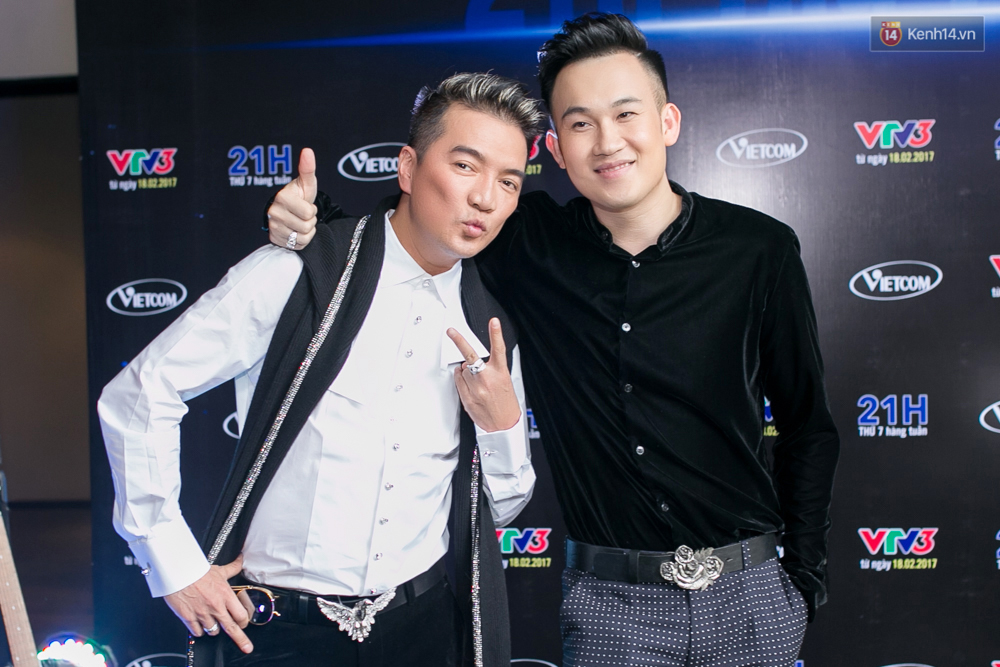 Đàm Vĩnh Hưng - Dương Triệu Vũ đầy tình cảm trong buổi ra mắt show thực tế mới cùng nhau - Ảnh 1.
