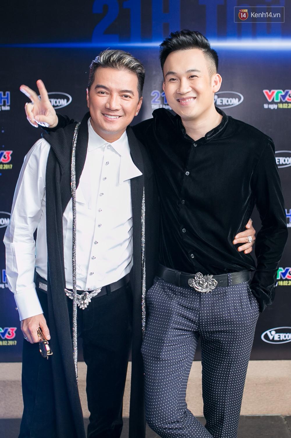 Đàm Vĩnh Hưng - Dương Triệu Vũ đầy tình cảm trong buổi ra mắt show thực tế mới cùng nhau - Ảnh 2.