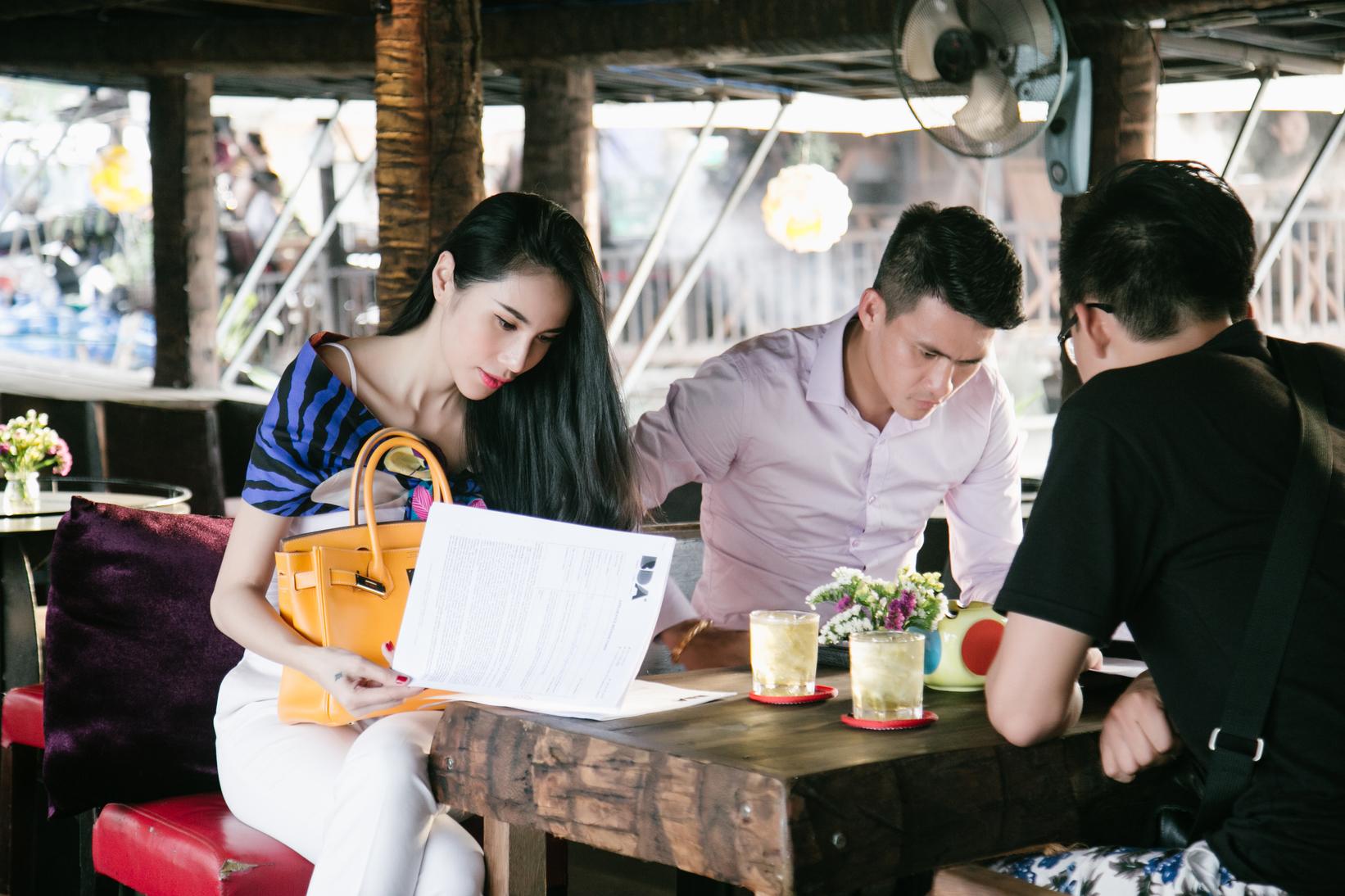 Công Vinh - Thủy Tiên lên kênh truyền hình thể thao số 1 thế giới - Ảnh 2.