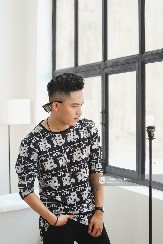Hot boy Anh Tú (team Đông Nhi): Nói tôi giống Sơn Tùng không sao cả, nhưng tôi thần tượng G-Dragon! - Ảnh 4.