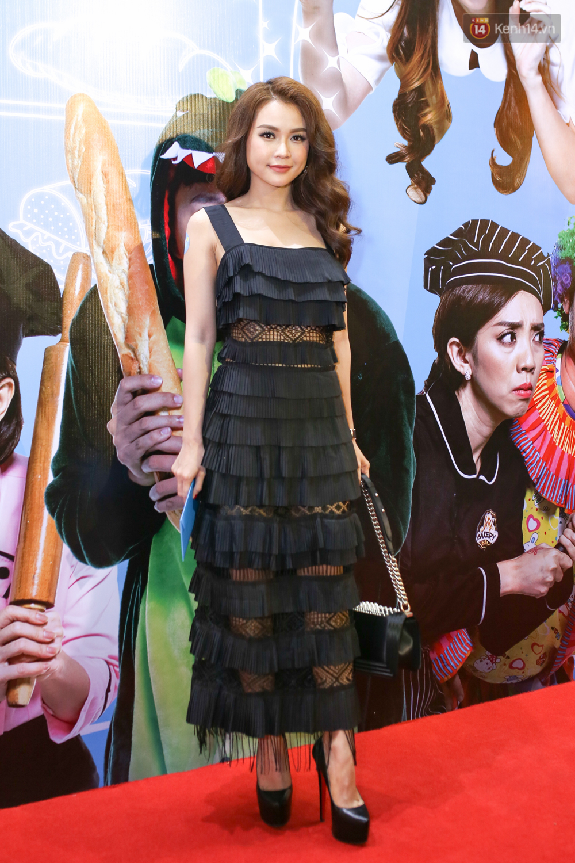 Bị nghi có bầu vì bụng bự, Hari Won quyết tâm giảm cân và diện đầm khoe chân ngực gợi cảm - Ảnh 18.