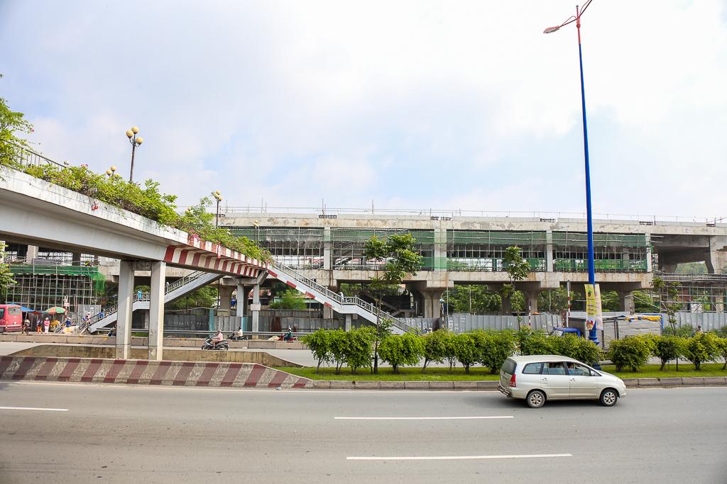 Clip toàn cảnh tuyến Metro Bến Thành - Suối Tiên đang thành hình rõ dáng sau 5 năm thi công - Ảnh 16.