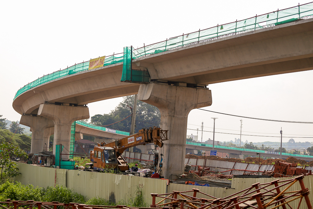 Clip toàn cảnh tuyến Metro Bến Thành - Suối Tiên đang thành hình rõ dáng sau 5 năm thi công - Ảnh 18.