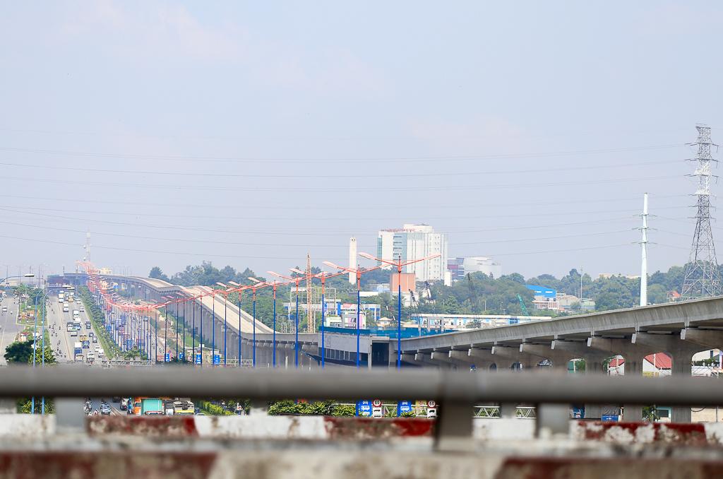 Clip toàn cảnh tuyến Metro Bến Thành - Suối Tiên đang thành hình rõ dáng sau 5 năm thi công - Ảnh 14.
