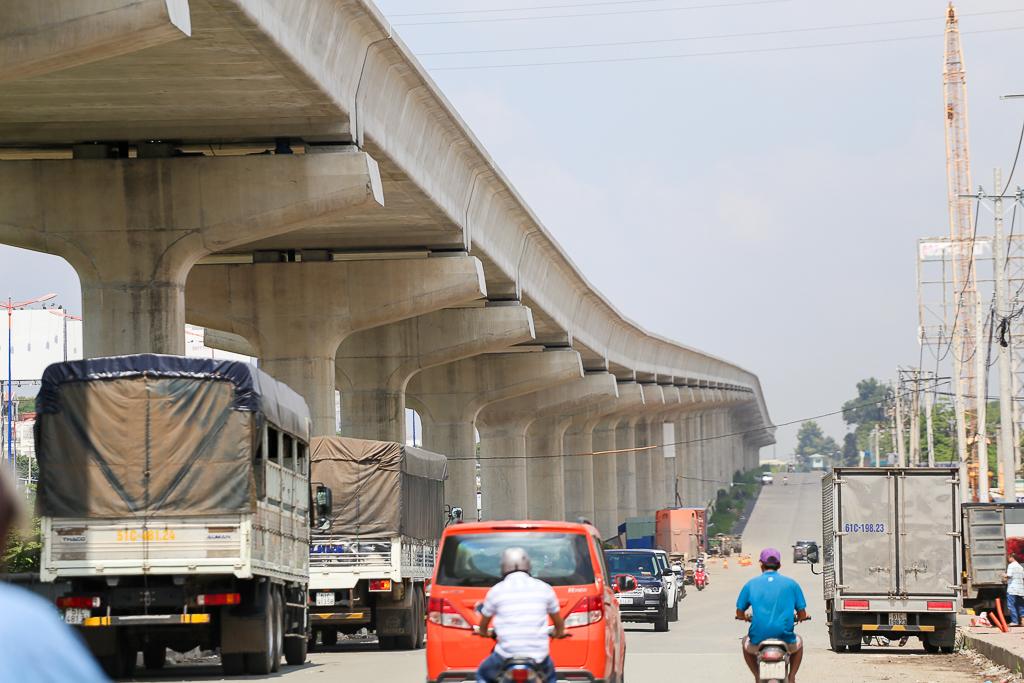 Clip toàn cảnh tuyến Metro Bến Thành - Suối Tiên đang thành hình rõ dáng sau 5 năm thi công - Ảnh 13.