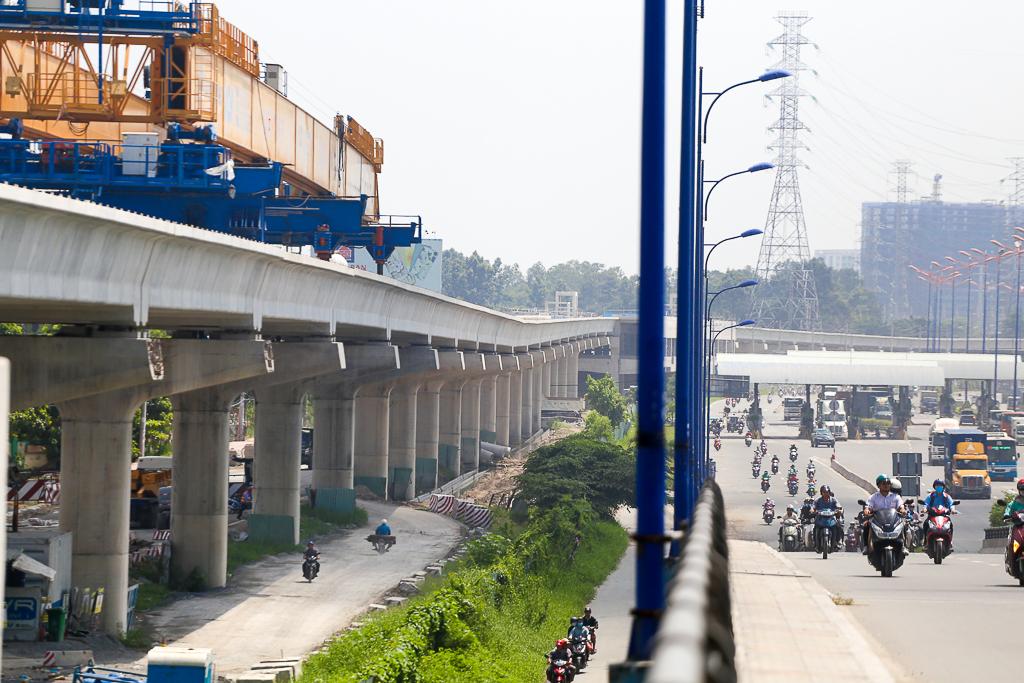 Clip toàn cảnh tuyến Metro Bến Thành - Suối Tiên đang thành hình rõ dáng sau 5 năm thi công - Ảnh 7.