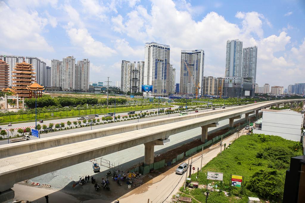Clip toàn cảnh tuyến Metro Bến Thành - Suối Tiên đang thành hình rõ dáng sau 5 năm thi công - Ảnh 11.