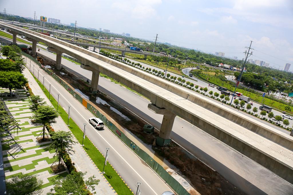 Clip toàn cảnh tuyến Metro Bến Thành - Suối Tiên đang thành hình rõ dáng sau 5 năm thi công - Ảnh 10.