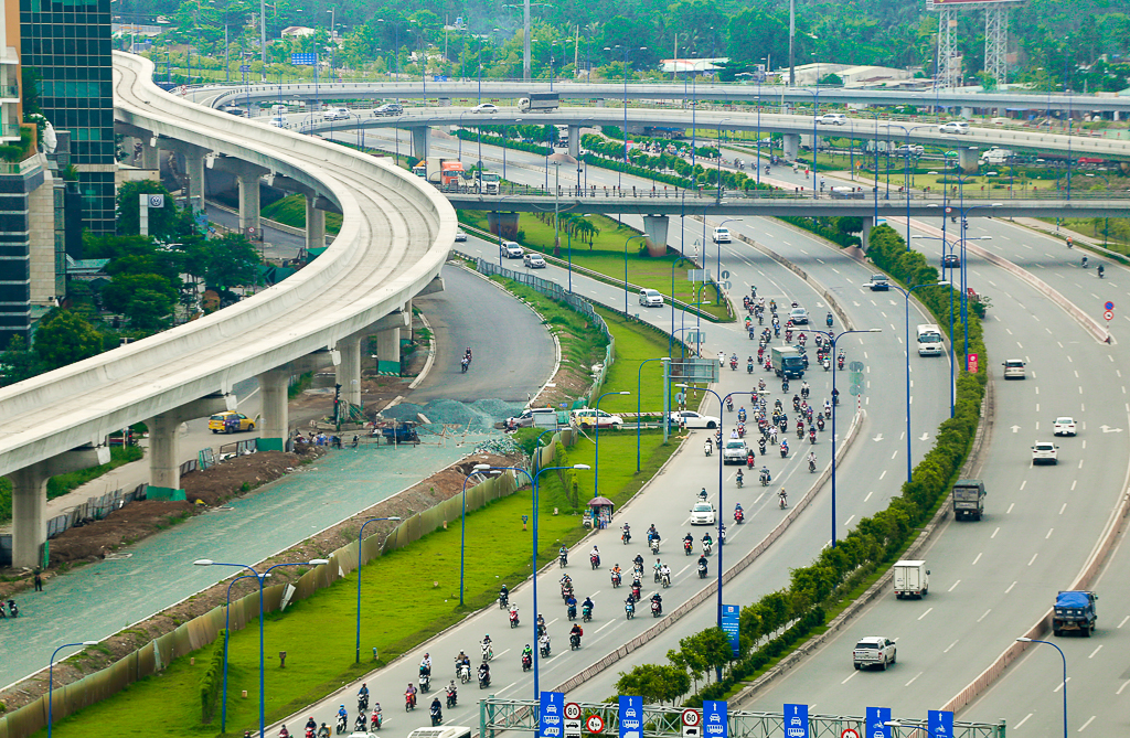 Clip toàn cảnh tuyến Metro Bến Thành - Suối Tiên đang thành hình rõ dáng sau 5 năm thi công - Ảnh 9.