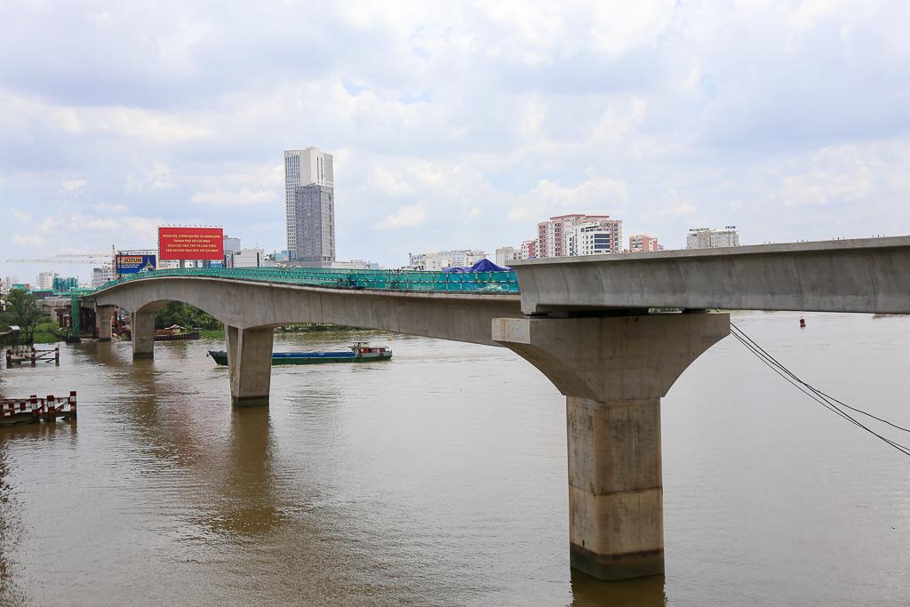 Clip toàn cảnh tuyến Metro Bến Thành - Suối Tiên đang thành hình rõ dáng sau 5 năm thi công - Ảnh 6.
