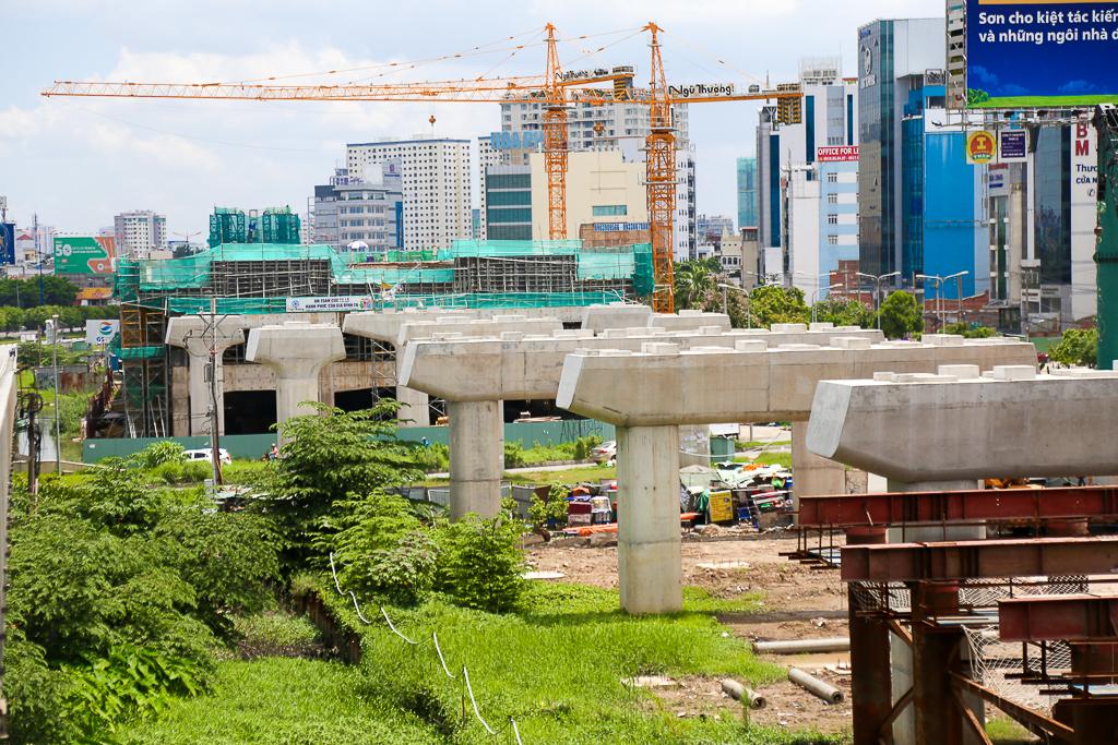 Clip toàn cảnh tuyến Metro Bến Thành - Suối Tiên đang thành hình rõ dáng sau 5 năm thi công - Ảnh 5.