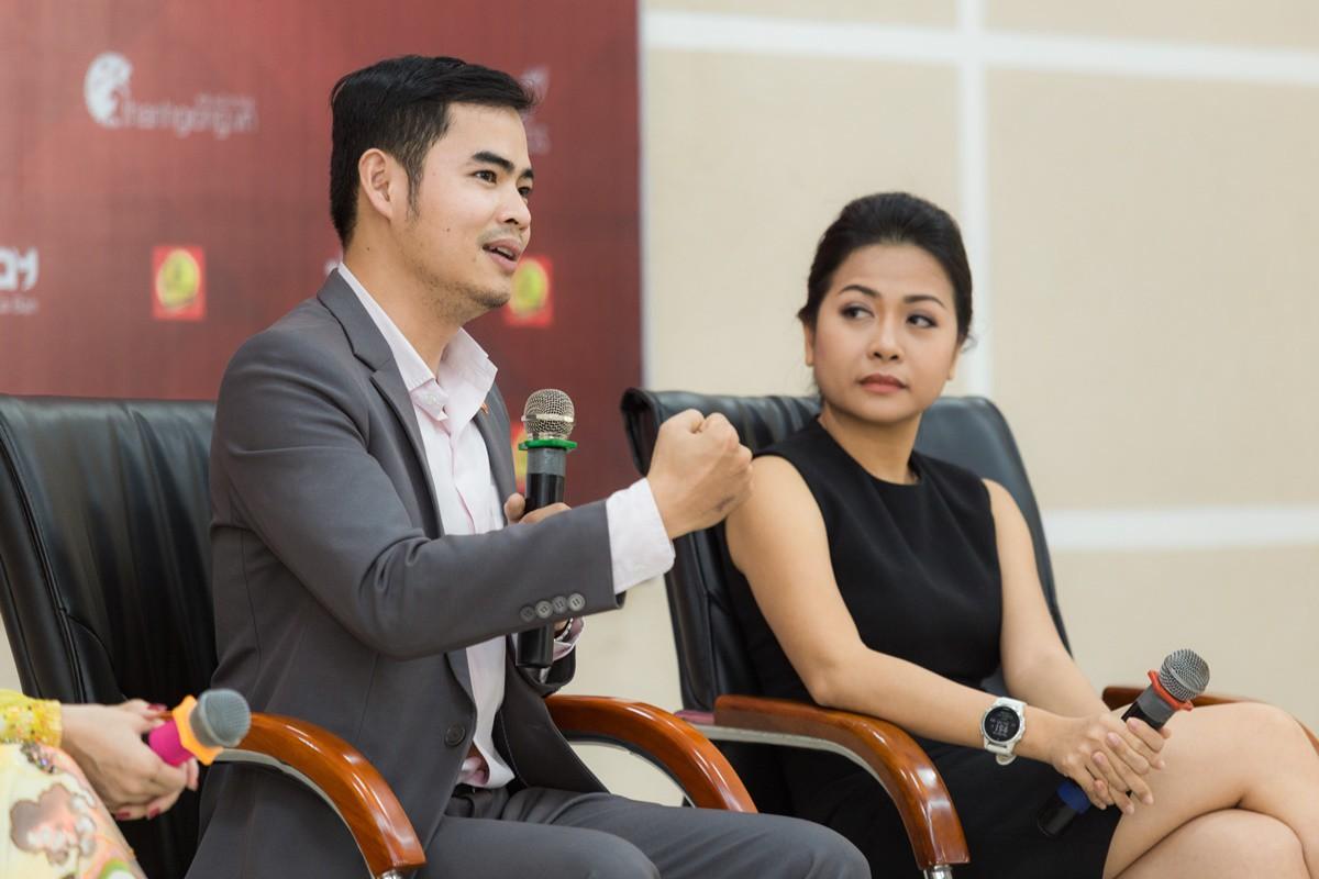 Buổi giao lưu của top 45 Hoa khôi Sinh viên Việt Nam 2017 với các doanh nhân thành đạt - Ảnh 2.