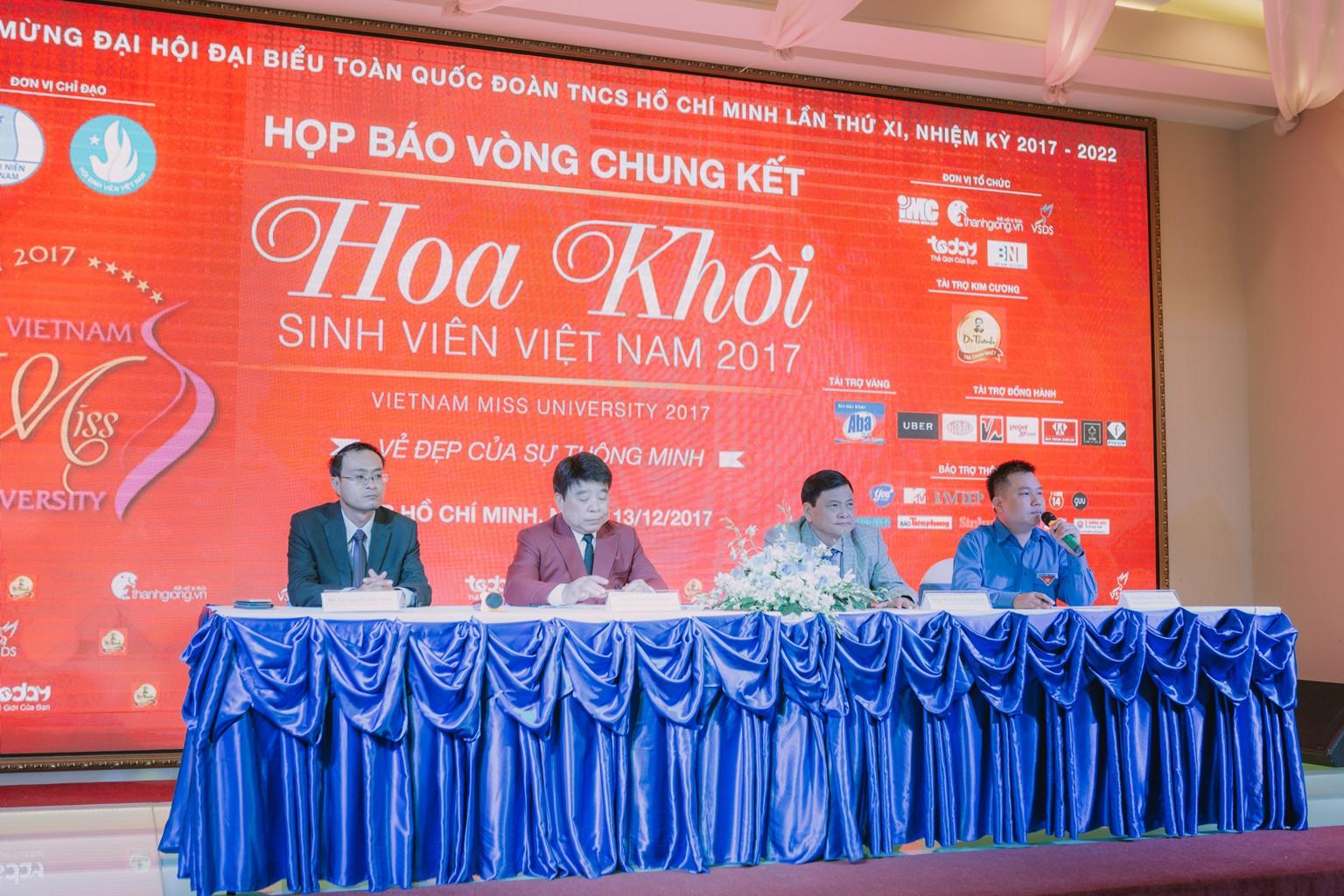 Cuối tuần này, 45 nữ sinh tài năng nhất sẽ cùng tranh tài trong đêm Chung kết Hoa khôi sinh viên Việt Nam - Ảnh 1.