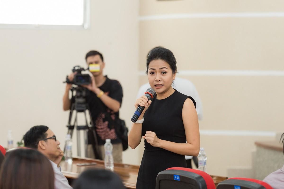 Buổi giao lưu của top 45 Hoa khôi Sinh viên Việt Nam 2017 với các doanh nhân thành đạt - Ảnh 3.