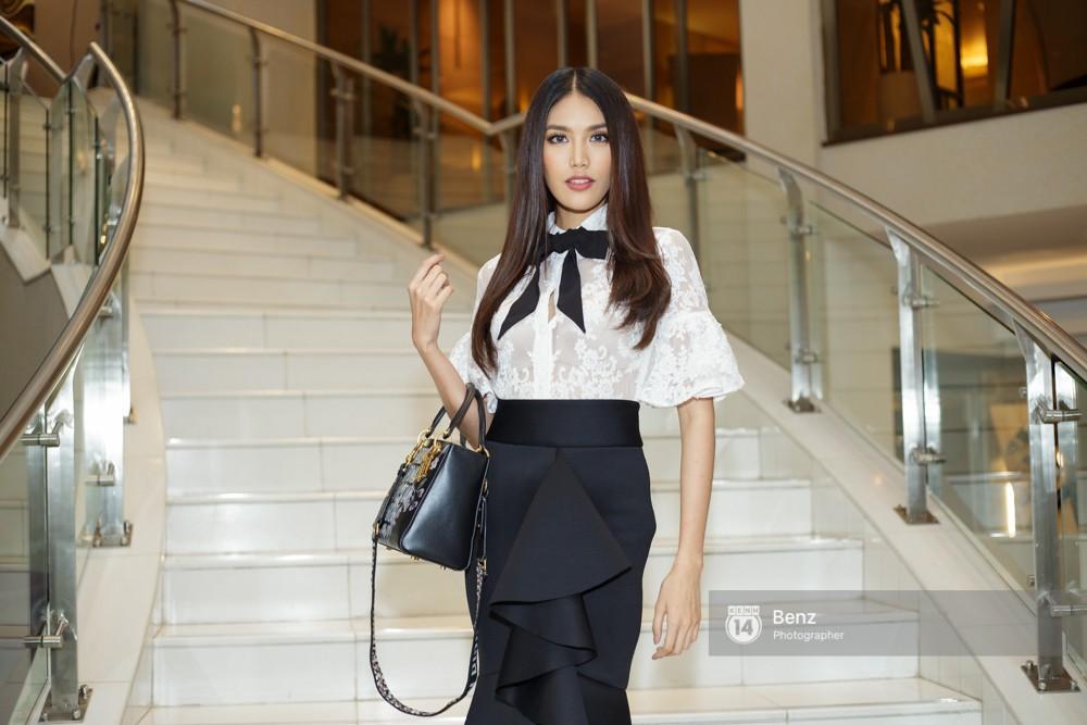 Vừa về tới Việt Nam, Khánh Ngân trích 150 triệu đồng giải thưởng Miss Globe hỗ trợ bà con trong vùng bão lũ - Ảnh 4.