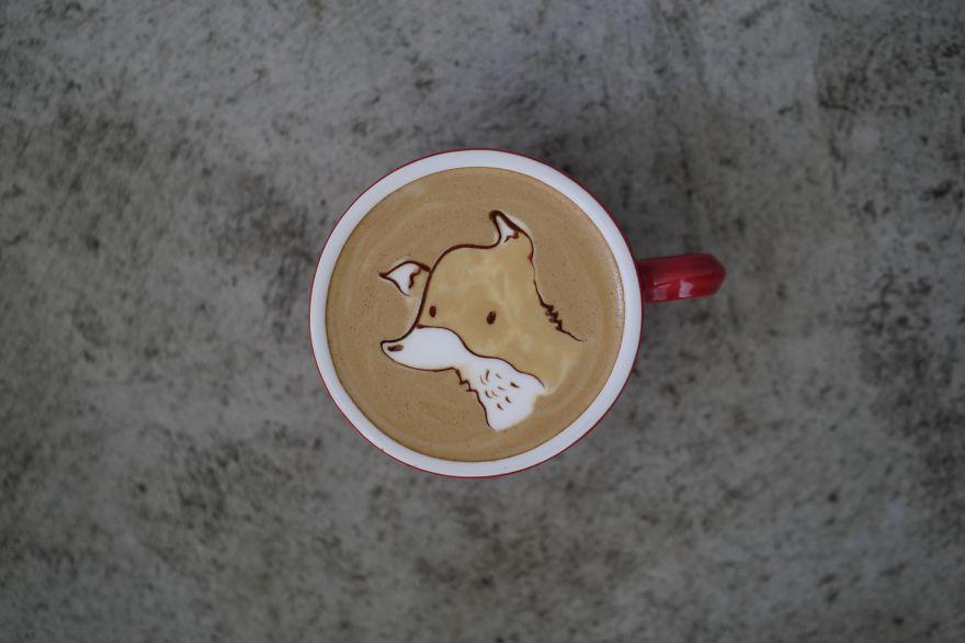 Triển lãm tranh hoạt hình cute trên những ly cà phê - Ảnh 9.