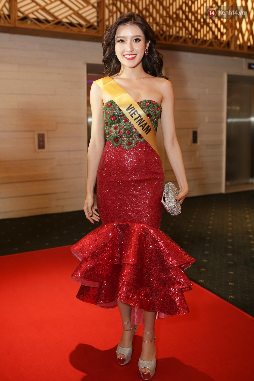 Huyền My trượt khỏi top 10 thí sinh được yêu thích nhất tại Miss Grand International 2017 - Ảnh 1.