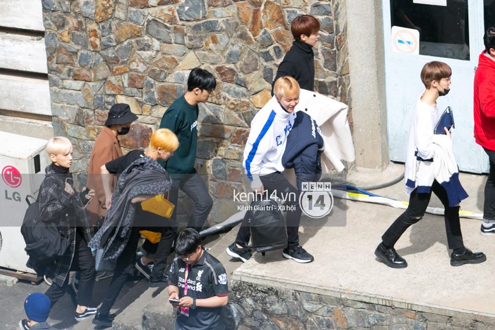 Vừa rời sân bay, Seventeen và Samuel đã đến ngay Nhà hát Hòa Bình để tổng duyệt MAMA 2017 giữa trưa nắng - Ảnh 3.