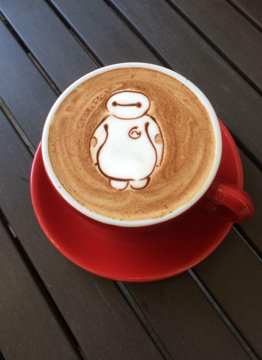 Triển lãm tranh hoạt hình cute trên những ly cà phê - Ảnh 23.