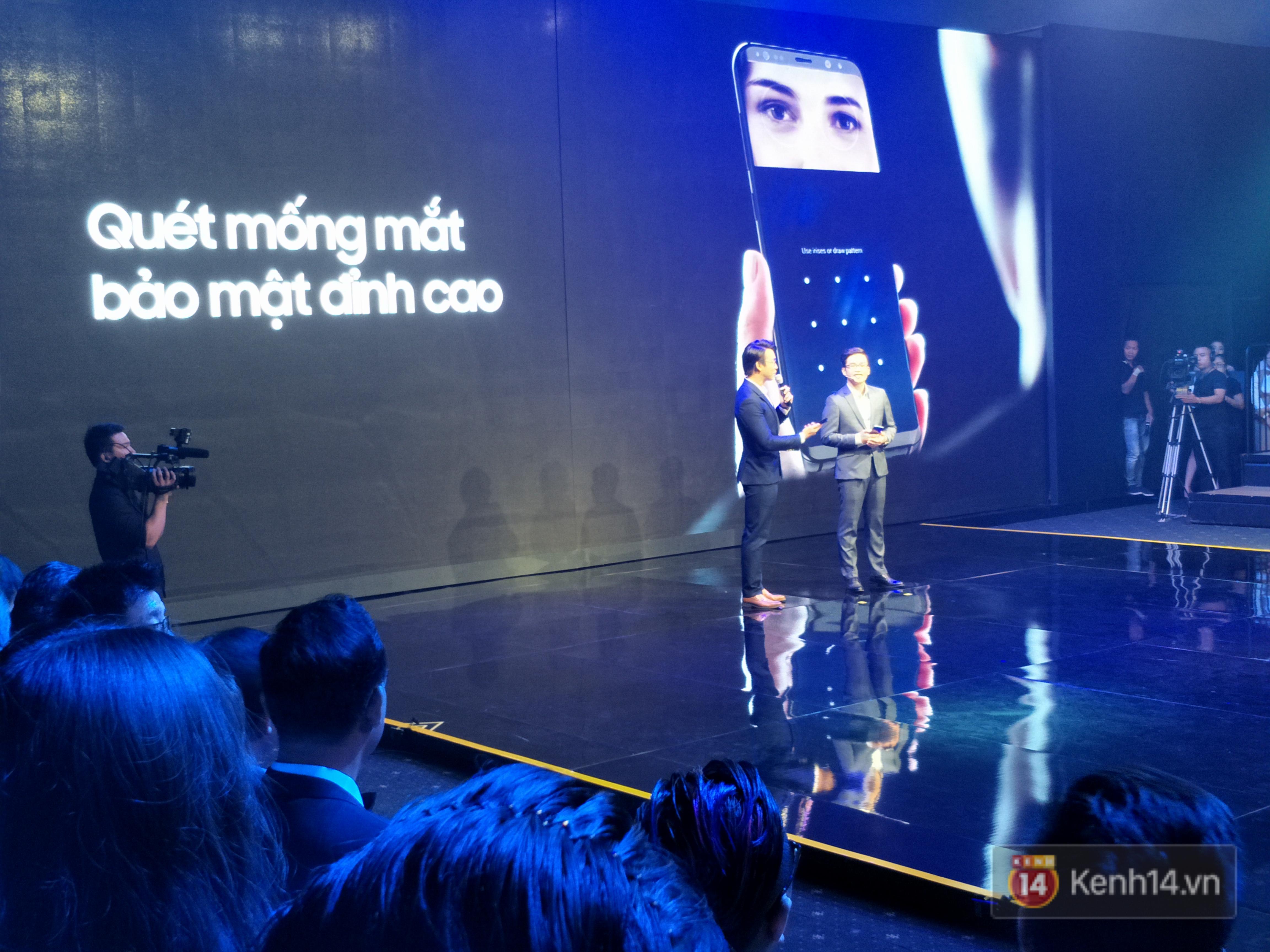 Toàn cảnh sự kiện Samsung Galaxy S8 chính thức ra mắt tại Việt Nam - Ảnh 8.