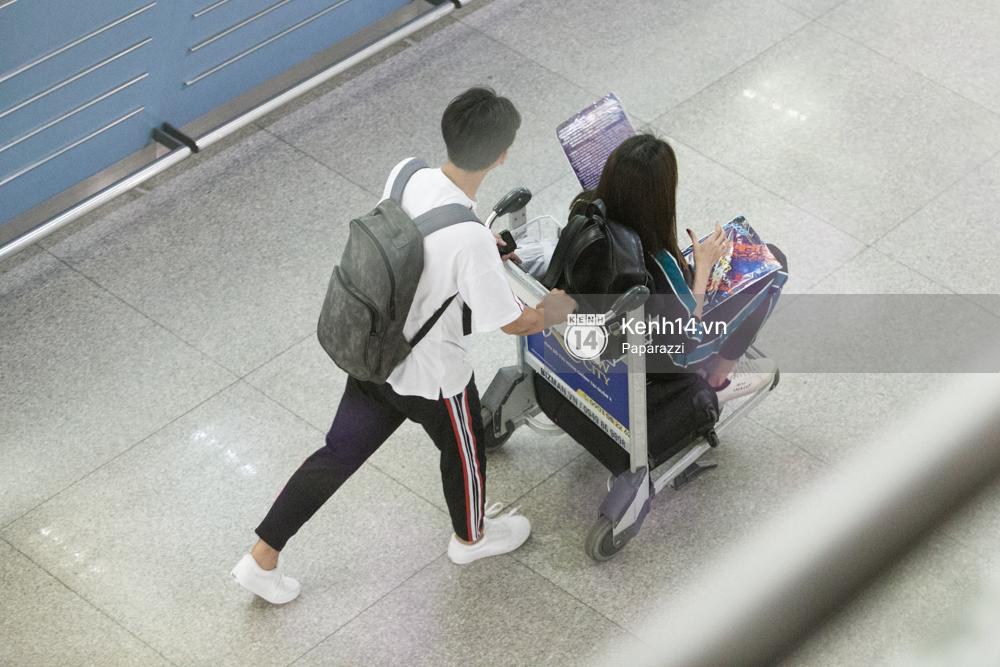 Minh Tú diện trang phục giản dị lên đường sang Úc gặp Thor Chris Hemsworth - Ảnh 12.