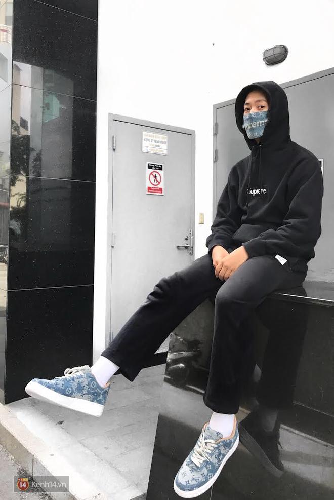 9x Việt độ giày từ đồ Louis Vuitton x Supreme hàng chục triệu đồng đang khiến giới chơi sneakers phát sốt - Ảnh 30.