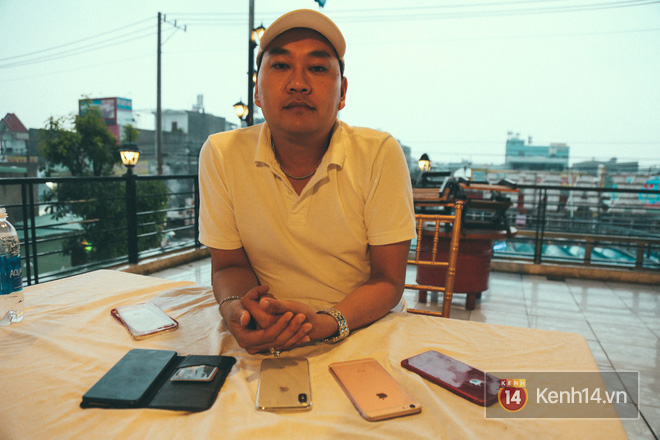 Bỏ 68 triệu mua iPhone X đầu tiên tại Việt Nam, bầu show Nguyễn Huy không dám cầm trên tay khi ra đường - Ảnh 7.