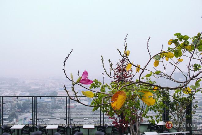 Sương mù dày đặc như Đà Lạt bao phủ khắp Sài Gòn từ sáng đến trưa - Ảnh 8.
