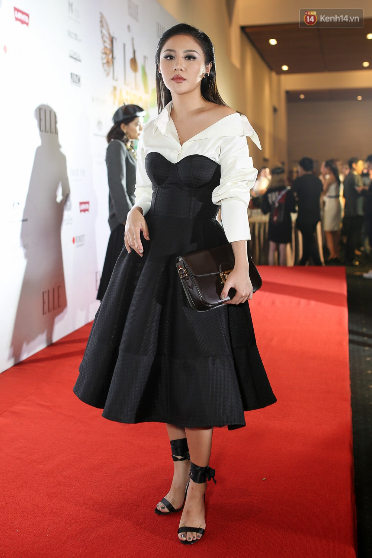 Quỳnh Anh Shyn lên đồ ấn tượng chẳng kém gì Phạm Hương, Minh Hằng trên thảm đỏ Elle Fashion Show - Ảnh 7.