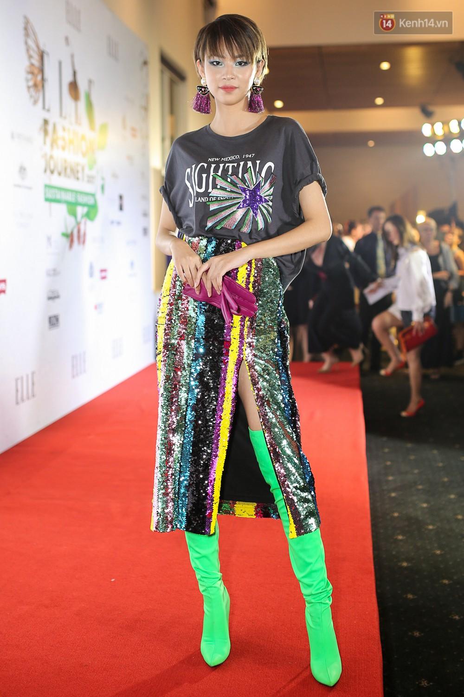 Quỳnh Anh Shyn lên đồ ấn tượng chẳng kém gì Phạm Hương, Minh Hằng trên thảm đỏ Elle Fashion Show - Ảnh 24.