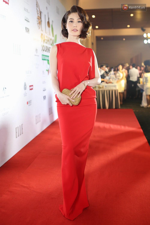 Quỳnh Anh Shyn lên đồ ấn tượng chẳng kém gì Phạm Hương, Minh Hằng trên thảm đỏ Elle Fashion Show - Ảnh 21.