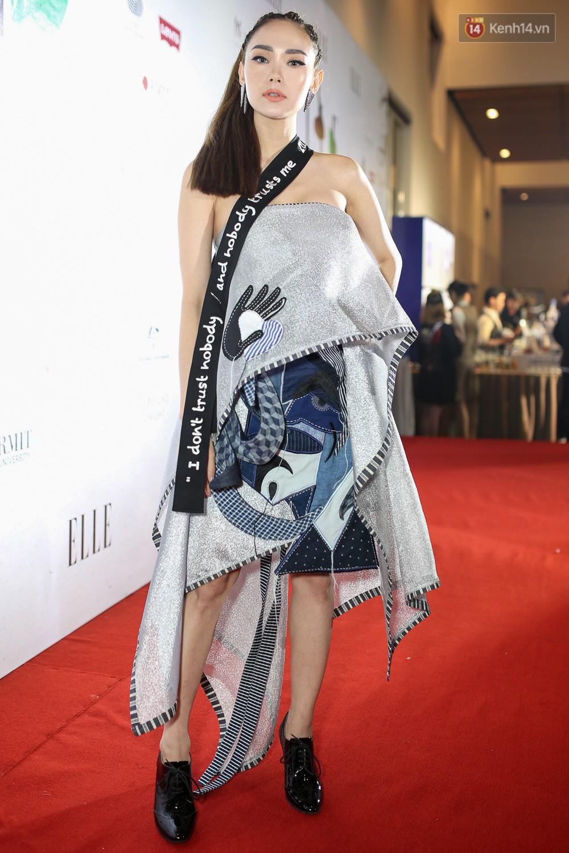 Quỳnh Anh Shyn lên đồ ấn tượng chẳng kém gì Phạm Hương, Minh Hằng trên thảm đỏ Elle Fashion Show - Ảnh 5.