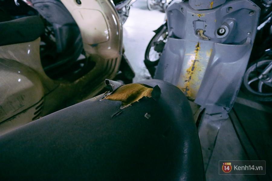 Hàng trăm chiếc xe máy quá hạn vì gửi 2 năm không ai nhận, nhà xe sân bay Tân Sơn Nhất thiệt hại nửa tỉ đồng - Ảnh 7.