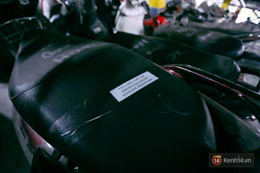 Hàng trăm chiếc xe máy quá hạn vì gửi 2 năm không ai nhận, nhà xe sân bay Tân Sơn Nhất thiệt hại nửa tỉ đồng - Ảnh 6.