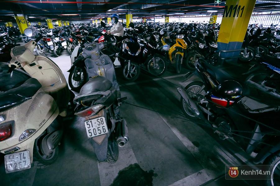 Hàng trăm chiếc xe máy quá hạn vì gửi 2 năm không ai nhận, nhà xe sân bay Tân Sơn Nhất thiệt hại nửa tỉ đồng - Ảnh 4.