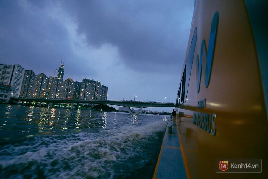 Buýt đường sông ở Sài Gòn cháy vé sau 10 ngày miễn phí, người dân chờ 2 tiếng mới được lên tàu - Ảnh 14.