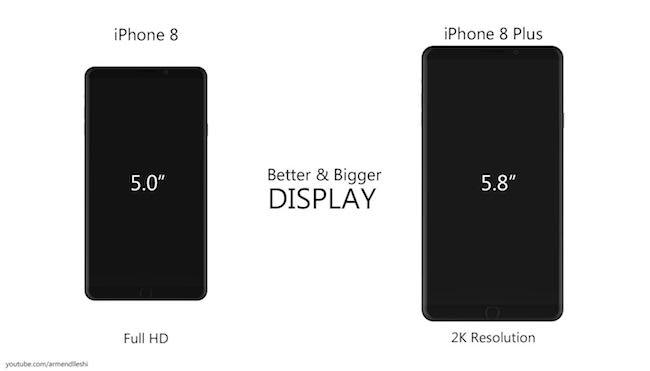 Sướng tê người với ý tưởng iPhone 8 màn hình uốn cong độc đáo - Ảnh 5.