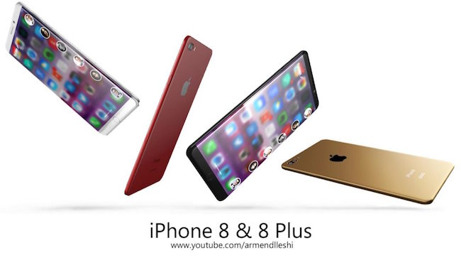 Sướng tê người với ý tưởng iPhone 8 màn hình uốn cong độc đáo - Ảnh 2.