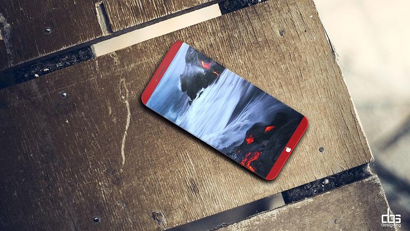 Galaxy S8 đã là gì, chiếc iPhone 8 ĐỎ RỰC đẹp đến nỗi bạn phải ngẩn ngơ - Ảnh 4.