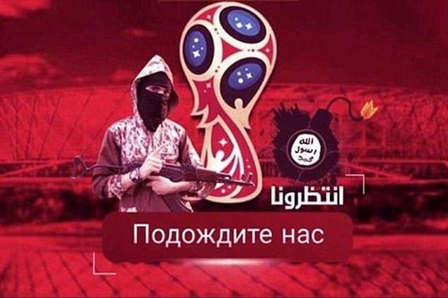 ISIS dọa khủng bố World Cup với hình Messi... khóc ra máu sau song sắt - Ảnh 3.