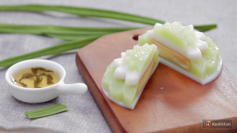 Nhà không có lò nướng vẫn có thể làm bánh Trung thu thạch rau câu thơm ngon, béo ngậy - Ảnh 9.