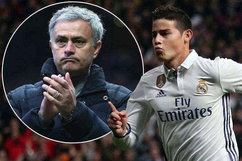 James Rodriguez cầu viện Man Utd cứu anh ra khỏi Real - Ảnh 1.