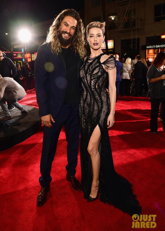 Dù lắm thị phi nhưng Amber Heard quả thật quá xinh đẹp, cân luôn cả Wonder Woman trên thảm đỏ - Ảnh 5.