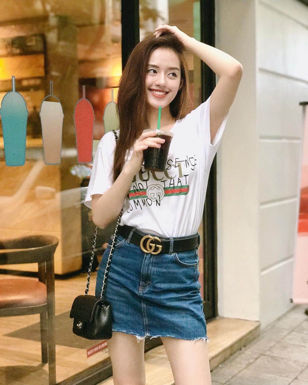 Mặc giống Hoàng Ku, Quỳnh Anh Shyn, Kỳ Duyên đã đành, Khánh Linh còn đụng hàng cả Tiffany - Ảnh 10.
