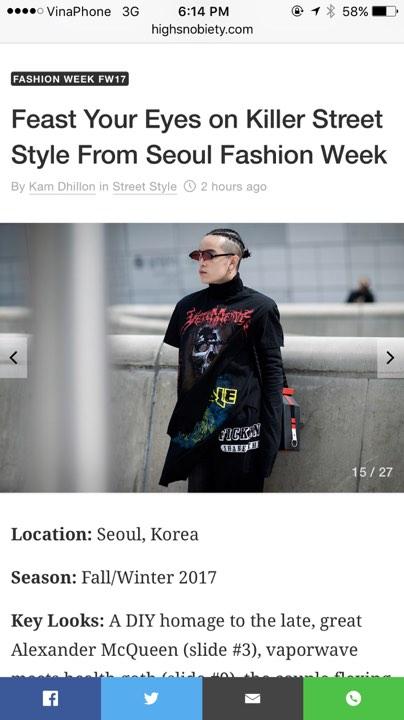 Công phá xong Gucci, Kelbin Lei lại tiếp tục chinh phục Instagram của Vetements - Ảnh 3.