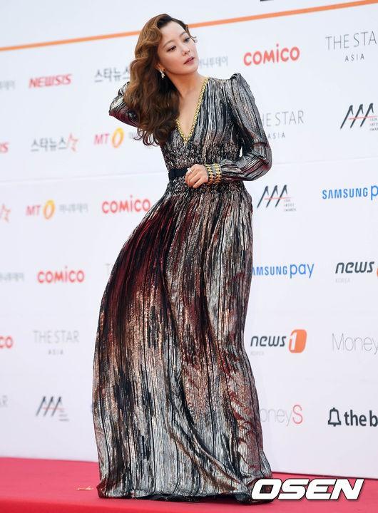 Asia Artist Awards bê cả showbiz lên thảm đỏ: Yoona, Suzy lép vế trước Park Min Young, hơn 100 sao Hàn lộng lẫy đổ bộ - Ảnh 3.