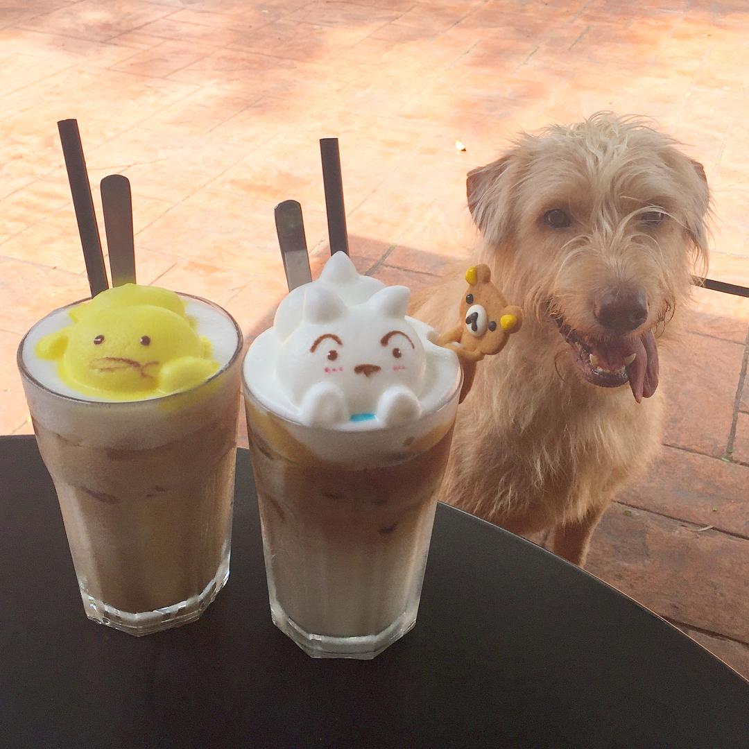 15 tác phẩm tranh vẽ latte khiến hội ghiền cà phê thích mê - Ảnh 3.